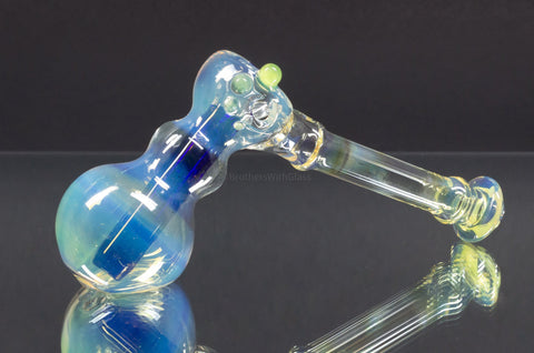 Trill Glass Fummed Colored Hammer Bubbler - Various Colors