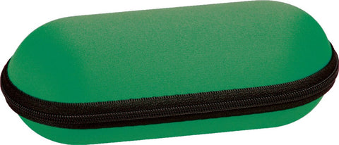 Padded Zippered 6 Inch Pipe Case - Green