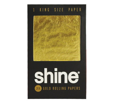 Shine 24k King Size Gold Rolling Paper