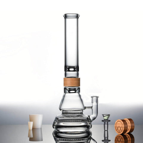 Vitae Glass Inline To Honeycomb Bong - The Ship
