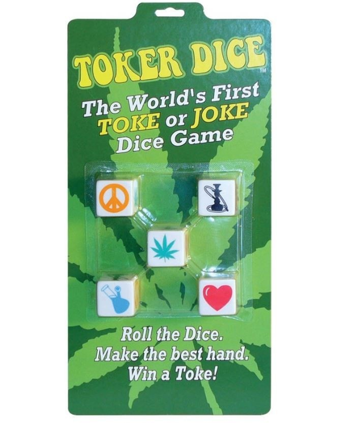 Toke or Joke Toker Dice Game