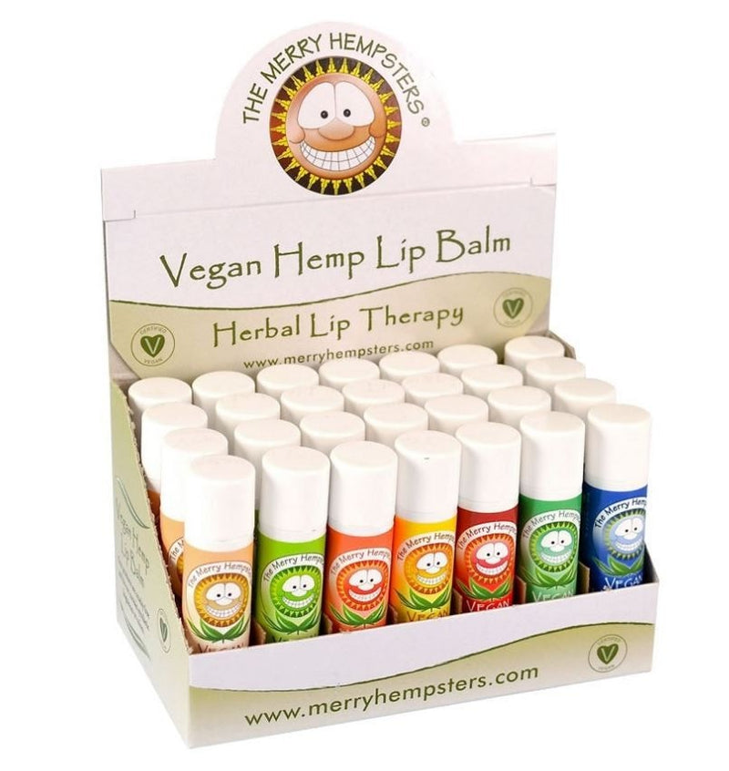 The Merry Hempsters Vegan Lip Balm - Assorted Flavors