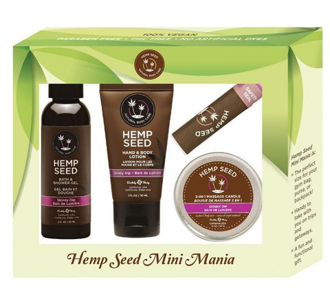 Hemp Seed Mini Mania Gift Set - Skinny Dip