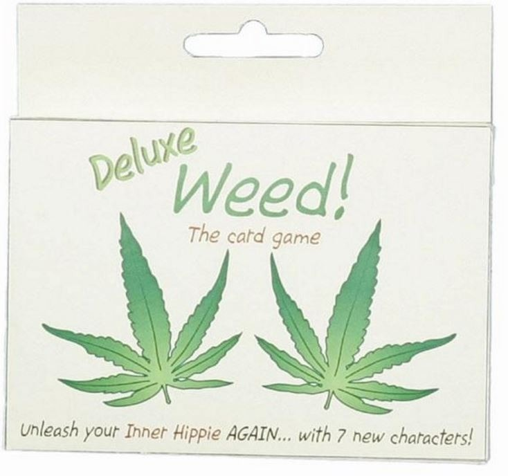 Deluxe Novelty 420 Card Game - Double Deck