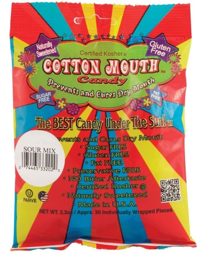 Cotton Mouth Naturally Sweet Candy Treats - Sour Mix