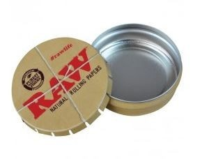 Raw Metal Pop-up Tin - Brothers with Glass