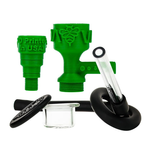 DabVac by Headdies 3-D Printed Vapor Adapter Kit  - 14mm Male