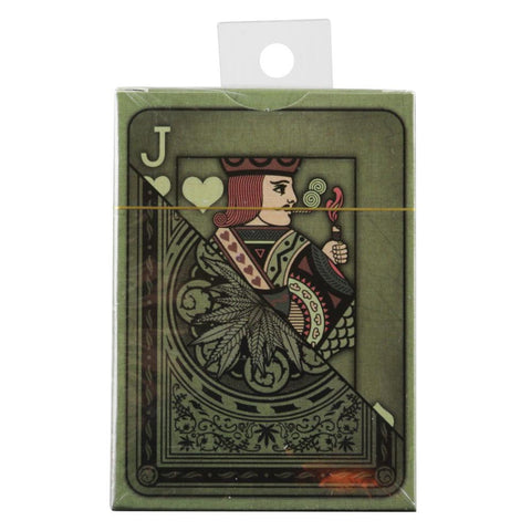 Cannabis Themed Playing Cards