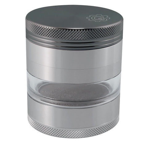2.5 In Grindhouse 4pc Grinder With Window - Gunmetal