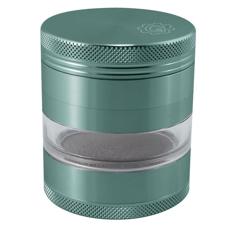 2.5 In Grindhouse 4pc Grinder With Window - Green
