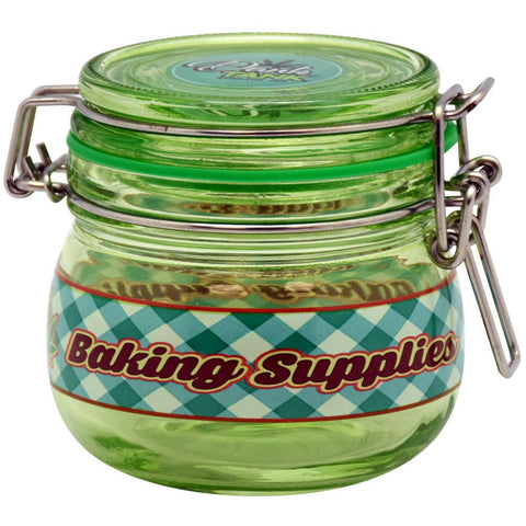 Baking Supplies Hinge Top Storage Jar