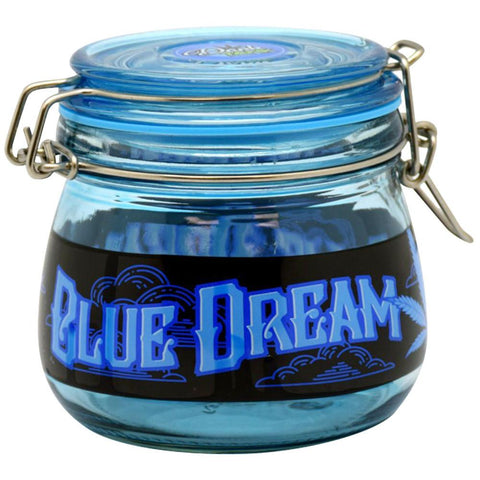 Blue Dream Hinge Top Storage Jar