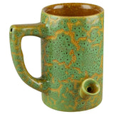 Green Ceramic Mug Hand Pipe