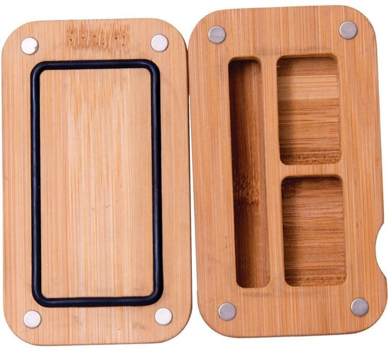 Bamboo Magnetic Storage Container