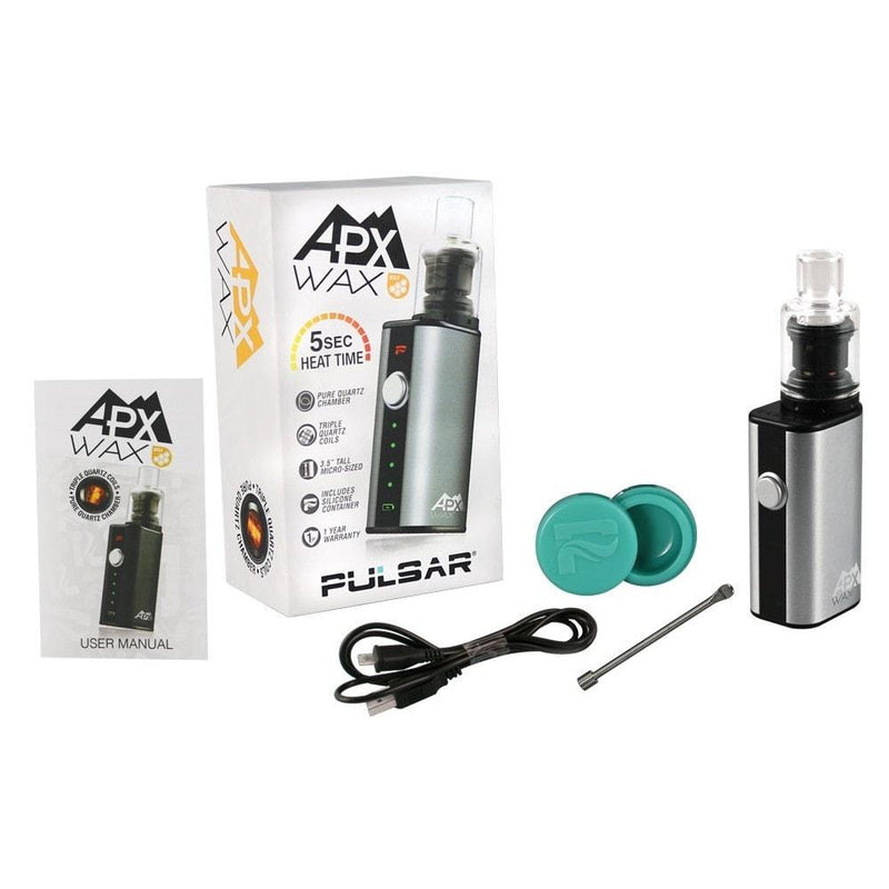 Pulsar APX Wax Vaporizer - Brothers with Glass - 3