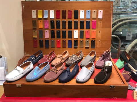 ATLANTA MOCASSIN CUSTOMIZATION TABLE IWATAYA JAPAN