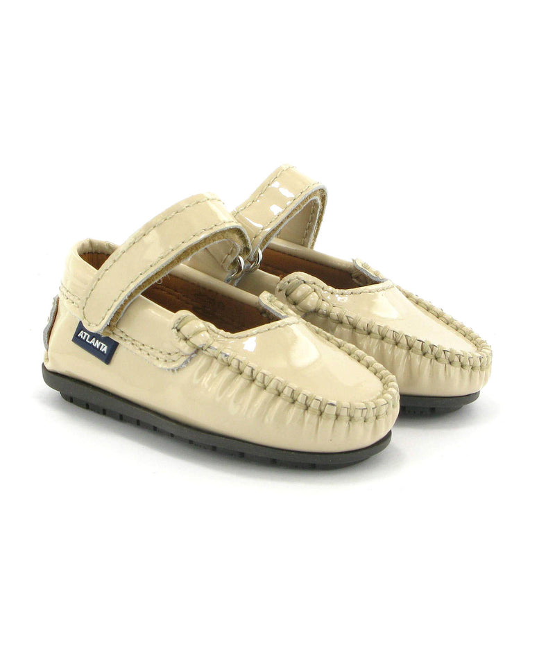 Mary Jane Moccasins in Patent Leather