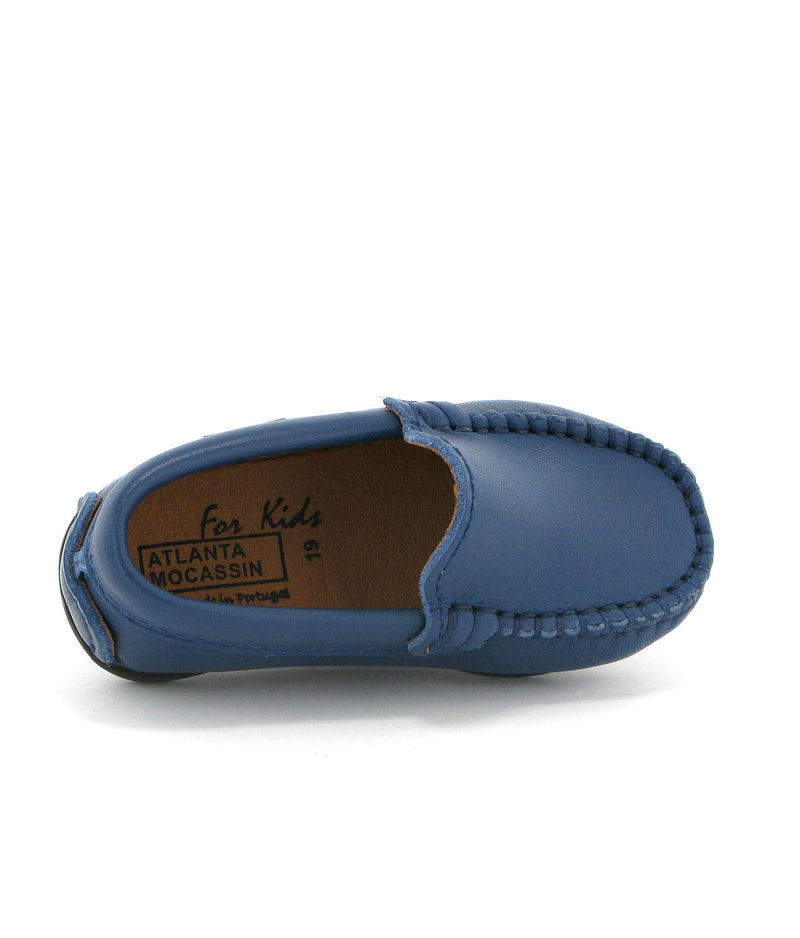 Plain Moccasins in Smooth Leather