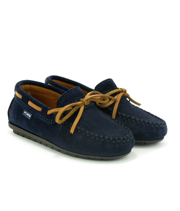 Hazel Laces Moccasins in Suede