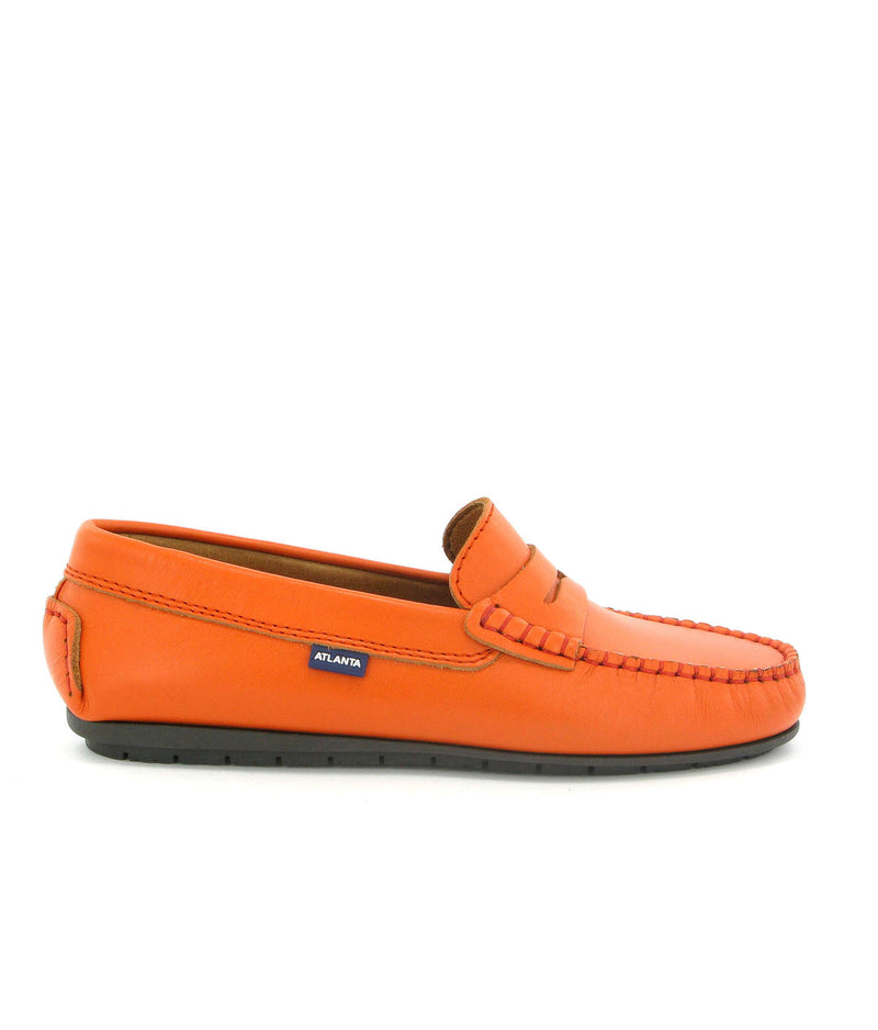Penny Moccasins in Smooth Leather
