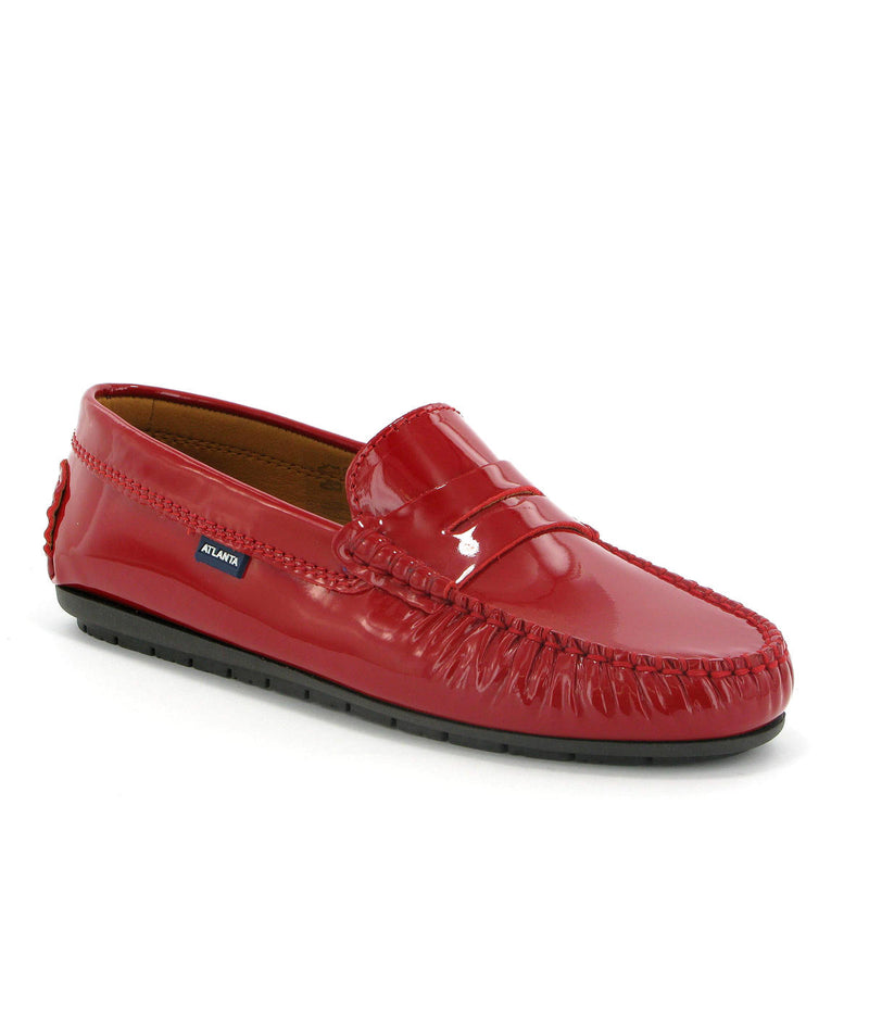Penny Moccasins in Patent Leather