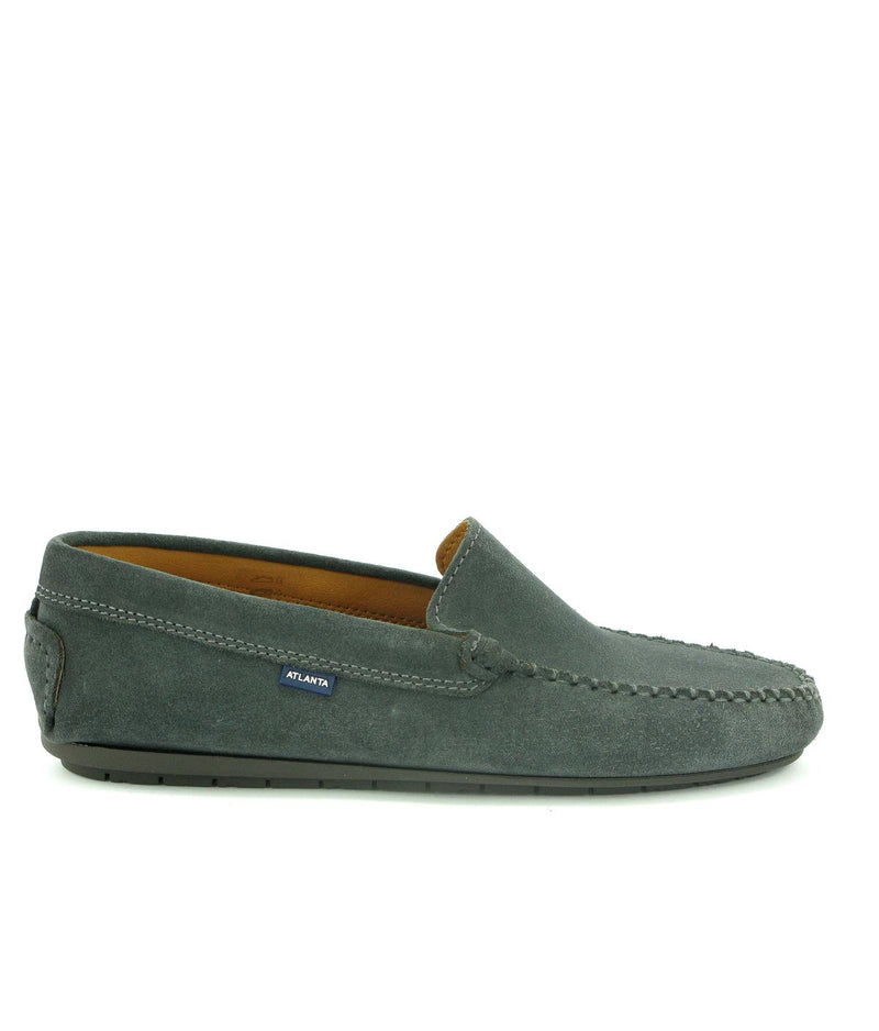 Plain Moccasins in Suede