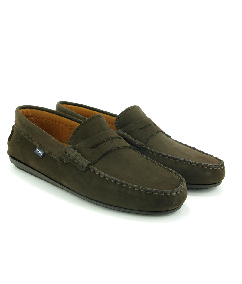 Penny Moccasins in Nubuck Leather