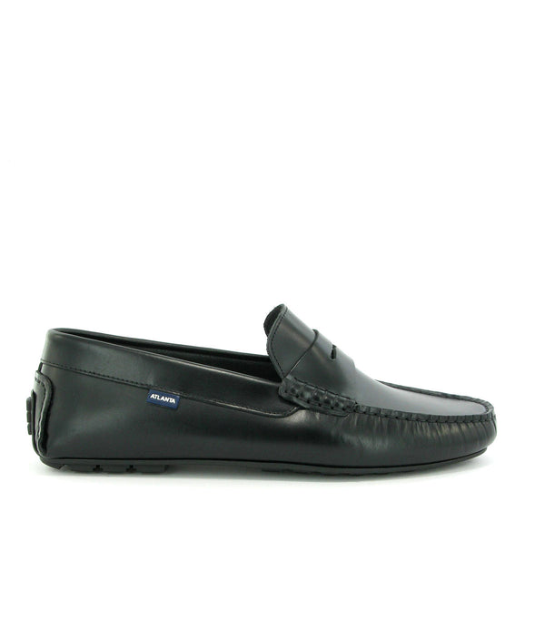 City Loafers in Pull Up leather