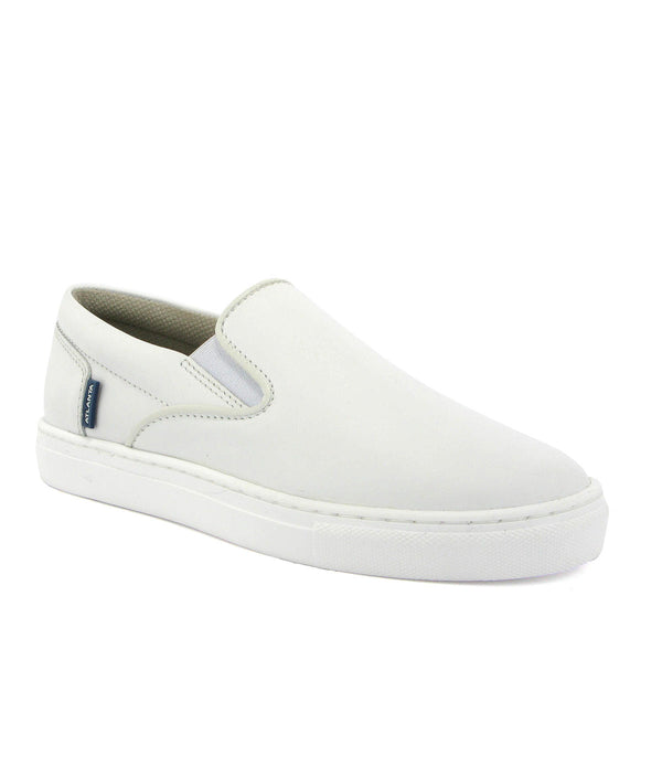 Slip On Sneakers in Smooth Leather