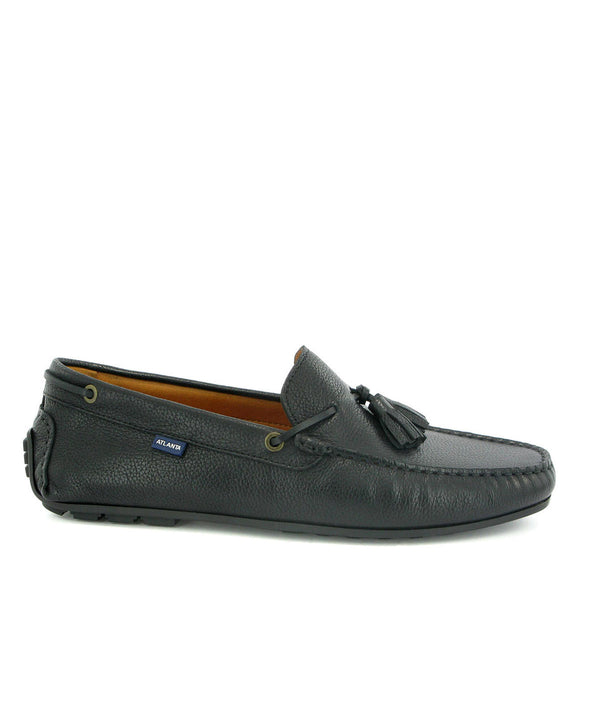 Tassel City Loafers in Grainy Leather