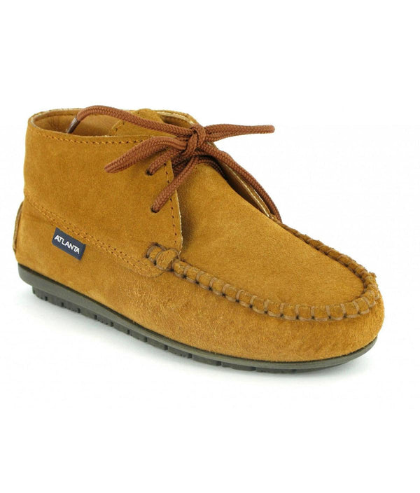 Moccasin Boots in Suede