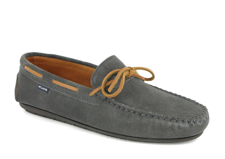 Loafers with Laces in Suede