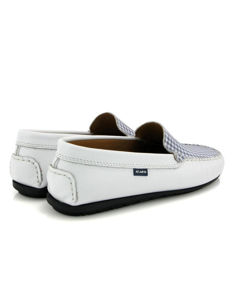 Rosalia Plain Moccasins in Leather