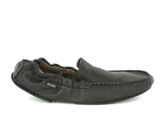 Foldable Loafers in Leather