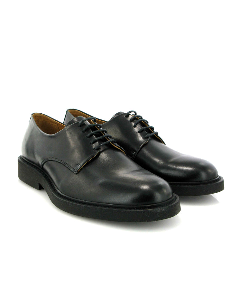 Derby shoes in Smooth Leather
