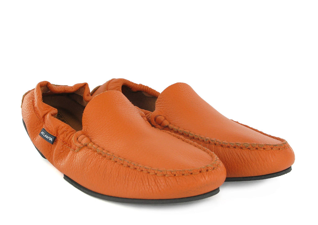Foldable Loafer in Leather