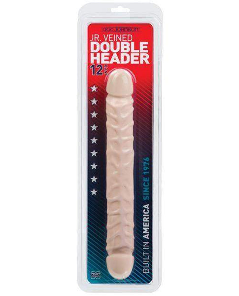 "12"" Jr. Double Header - White-LoveBoxToys.com"