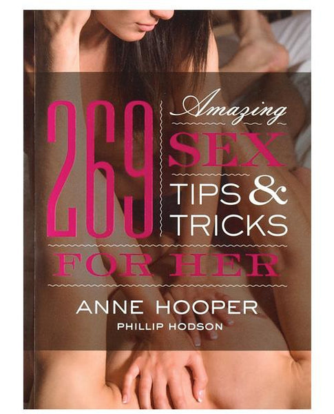 269 Amazing Sex Tips For Her Book-LoveBoxToys.com