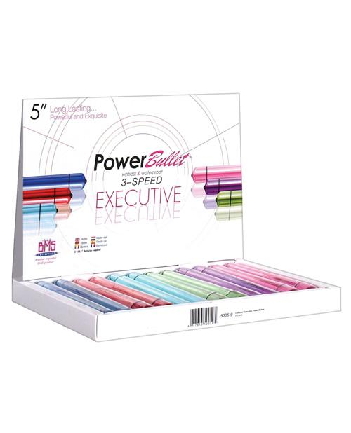 "5"" Breeze Power Bullet - Asst. Colors Display Of 12-LoveBoxToys.com"