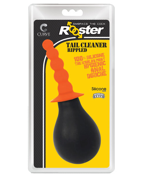 Curve Novelties Rooster Tail Cleaner Rippled - Orange