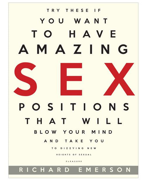 Amazing Sex Positions That Will Blow Your Mind Book-LoveBoxToys.com