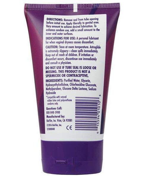 Astrogel Gel Lubricant - 4 Oz Tube-LoveBoxToys.com