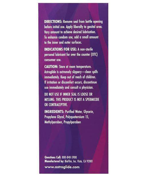 Astroglide Lubricant - 5 Oz Bottle-LoveBoxToys.com