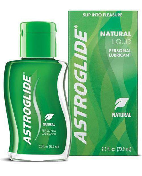 Astroglide Natural Lubricant - 2.5 Oz Bottle-LoveBoxToys.com