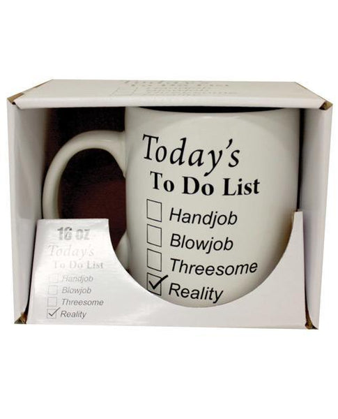 Attitude Mug Today's To Do List-LoveBoxToys.com