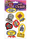 Bachelorette Award Stickers - 6 Sheets-LoveBoxToys.com