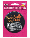 Bachelorette Button - Bachelorette Party Is Rated R-LoveBoxToys.com