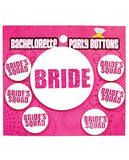 Bachelorette Party Button - Bride-bride's Squad-LoveBoxToys.com