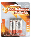 Doc Johnson Batteries - Aaa 4 Pack-LoveBoxToys.com