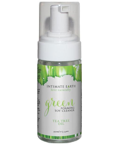 Intimate Earth Green Tea Tree Oil Foaming Toy Cleaner 100ml-ShopBadd.com